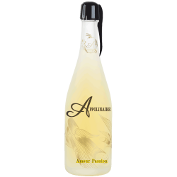 "Rhum pétillant ""amour"" passion"