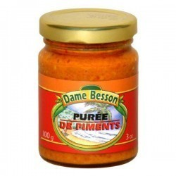 Assortiment de 4 sauces piquantes Dame Besson