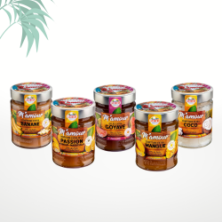 Assortiment de 5 confitures (5x325g) M'amour