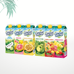 Assortiment de 6 jus (6x1L) Caresse Antillaise