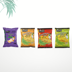 Assortiment de 4 chips (4x75g) Samai
