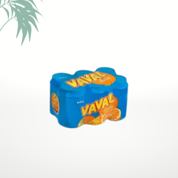 Soda vaval orange (33cl x 6)