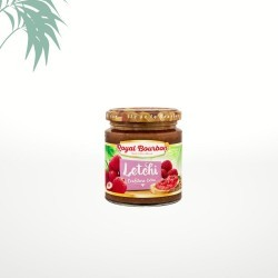 Confiture de letchis 250g Royal Bourbon