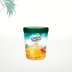 Glace mangue 300g Caresse Antillaise