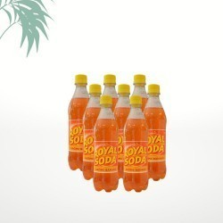 Pack de Royal Soda banane (8x50cl)