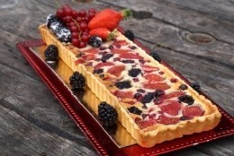 TARTE AMANDINE FRUITS ROUGE
